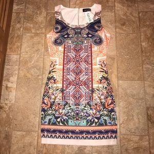 Multi-color Fabrik Dress Large